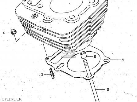 Suzuki Gn250e 1998 (w) General (e01) parts list