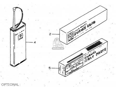 Suzuki GN250E 1999 (X) GENERAL (E01) parts lists and
