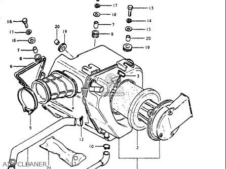 Suzuki Gn400 T 1982 (usa) parts list partsmanual partsfiche