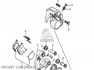 Suzuki Gn400t 1980 (t) Usa (e03) parts list partsmanual