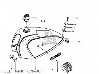 Suzuki GN400T 1980 (T) USA (E03) parts lists and schematics