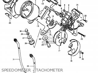 Suzuki Gn400t 1980 (t) Usa (e03) parts list partsmanual