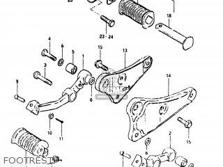 Suzuki GN400T 1982 (Z) USA (E03) parts lists and schematics