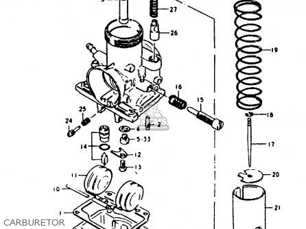 Suzuki Gp100u 1979 (n) (e01 E02 E06 E13 E14 E24 E30) parts