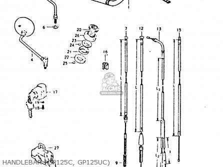 Suzuki GP125 1979 (N) (E01 E02 E04 E06 E13 E17 E18 E21 E22
