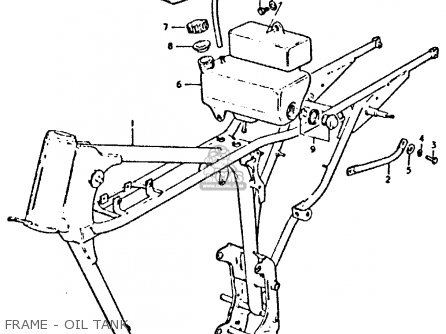 Suzuki Gp125 1979 (un) parts list partsmanual partsfiche