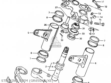Suzuki Gr650 1983 (d) (e01 E02 E04 06 15 16 17 18 21 22 24