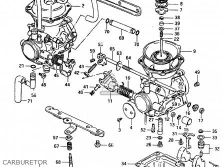 Suzuki Gr650 1983 (xd) parts list partsmanual partsfiche