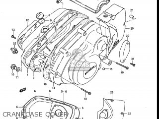 Suzuki Gr650 Tempter 1983 (d) Usa (e03) parts list
