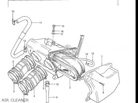 Suzuki Gr650 , X Tempter 1983 (usa) parts list partsmanual