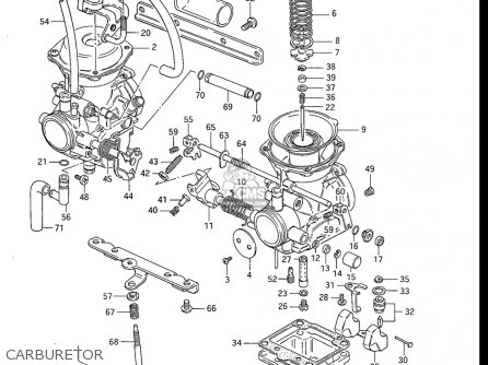 Suzuki Gr650 , X Tempter 1983 (usa) parts list partsmanual
