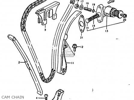 Suzuki Gs1000 1978 (c) General Export (e01) parts list