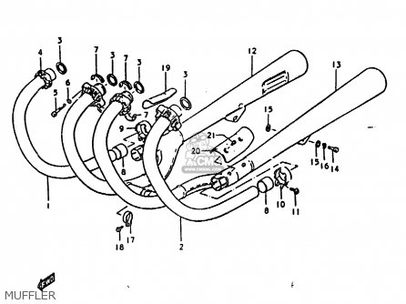Suzuki GS1000 1978 (C) GENERAL EXPORT (E01) parts lists