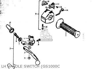 Suzuki GS1000 1978 (C) USA (E03) parts lists and schematics