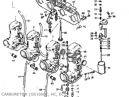 Suzuki Gs1000 1978 (ec) parts list partsmanual partsfiche