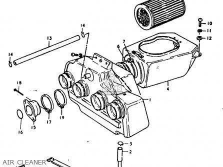 Suzuki GS1000 1979 (N) GENERAL EXPORT (E01) parts lists