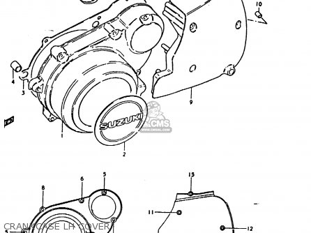 Suzuki GS1000 1979 (N) GENERAL EXPORT (E01) parts lists