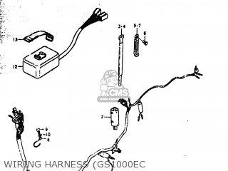 Suzuki GS1000 1979 (N) USA (E03) parts lists and schematics