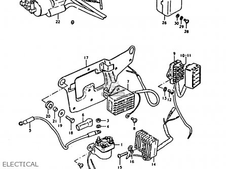Suzuki GS1000 1979 (S) GENERAL EXPORT (E01) parts lists