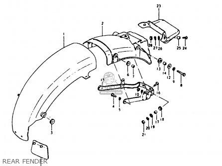 Suzuki GS1000 1980 (T) (E01 E02 E22 E24) parts lists and