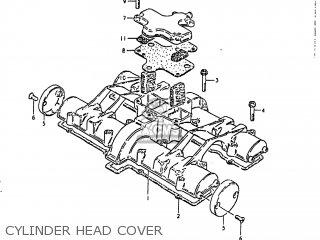 Suzuki Gs1000 1980 (t) Usa (e03) parts list partsmanual