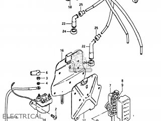 Suzuki Gs1000 1980 (t) Usa (e03) parts list partsmanual