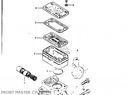 Suzuki Gs1000 1981 (gx) parts list partsmanual partsfiche