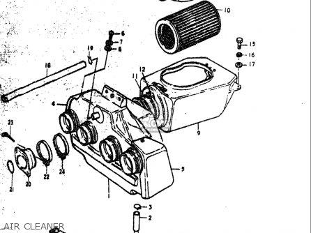 Suzuki Gs1000 C,ec,n,en 1978-1979 (usa) parts list