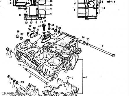 Suzuki Gs1000 E 1980 (usa) parts list partsmanual partsfiche