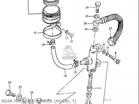 Suzuki Gs1000 Gl 1980-1981 (usa) parts list partsmanual