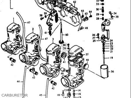 Suzuki Gs1000 L 1979 (usa) parts list partsmanual partsfiche