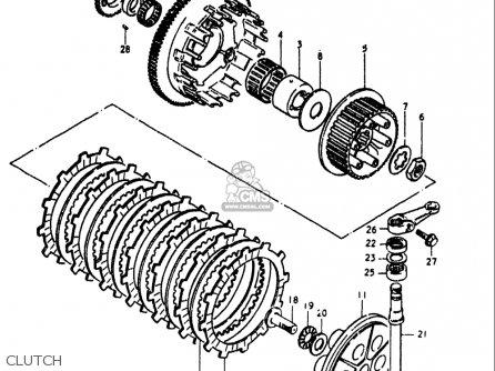 Suzuki Gs1000 L 1979 Usa Parts List Partsmanual Partsfiche