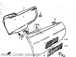 Suzuki GS1000C 1978 (C) USA (E03) parts lists and schematics