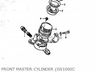 Suzuki Gs1000c 1979 (n) Usa (e03) parts list partsmanual