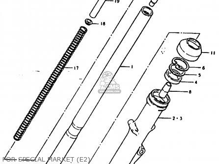 Suzuki Gs1000e 1978 (c) General Export (e01) parts list