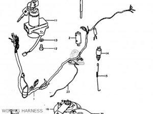 Suzuki Gs1000e 1978 (c) parts list partsmanual partsfiche