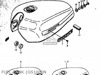 Suzuki GS1000EC 1978 (C) USA (E03) parts lists and schematics