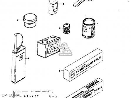Suzuki GS1000G 1980 (T) GENERAL EXPORT (E01) parts lists