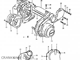 Suzuki Gs1000g 1980 (t) Usa (e03) parts list partsmanual