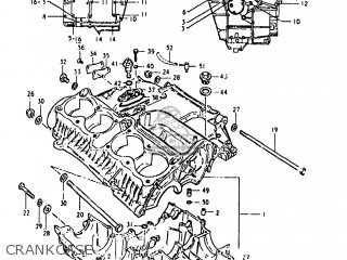 Suzuki GS1000G 1980 (T) USA (E03) parts lists and schematics