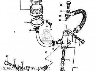 Suzuki GS1000G 1980 (T) USA (E03) parts lists and schematics