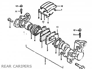 Suzuki Gs1000g 1981 (x) Usa (e03) parts list partsmanual