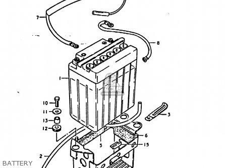 Suzuki Gs1000h 1978 (c) General Export (e01) parts list