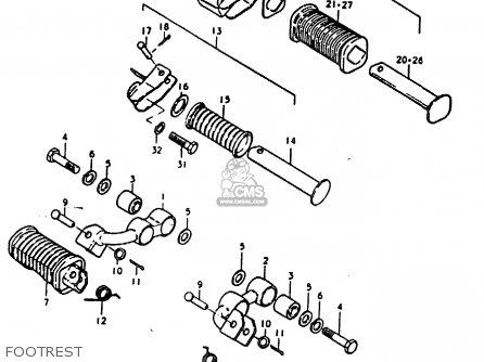 Suzuki GS1000H 1979 (N) GENERAL EXPORT (E01) parts lists