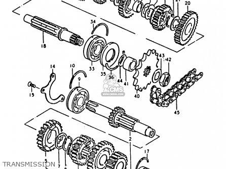 Suzuki Gs1000h 1979 (n) General Export (e01) parts list