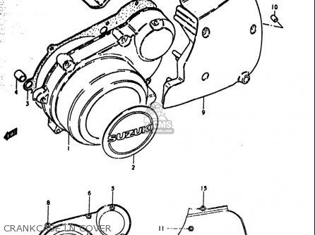 Suzuki GS1000S 1979 (N) USA (E03) parts lists and schematics