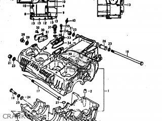 Suzuki Gs1000s 1979 (n) Usa (e03) parts list partsmanual