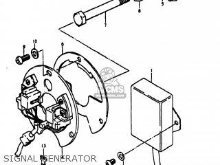 Suzuki Gs1000s 1980 (t) Usa (e03) parts list partsmanual