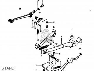 Suzuki GS1000S 1980 (T) USA (E03) parts lists and schematics