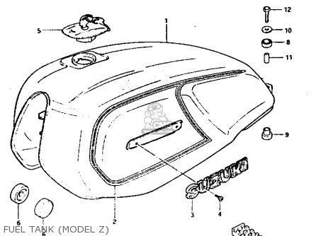 Suzuki Gs1100 1983 (gd) parts list partsmanual partsfiche